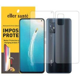 Eller Sante ® Vivo V17 Impossible Hammer Flexible Film Screen Protector (Front+Back)