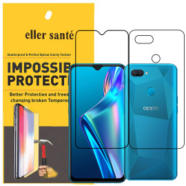 Eller Sante ® Oppo A12 Impossible Hammer Flexible Film Screen Protector (Front+Back)