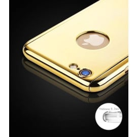 VAKU i-Zore ® Apple iPhone 6S Plus / 6 Plus Ultra Shine Mirror Finish ETOLICA 3-in-1 Front + Tempered Glass + Back Cover