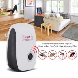 Dr. VAKU ® Ultrasonic Electronic Plug Non-Toxic Safe Indoor Pest Repellent