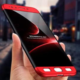 FCK ® VIVO V5 / V5s 5-IN-1 360 Series Silicon Case Dual-Colour Finish Ultra-thin Slim Front Case + Back Cover + Tempered Glass
