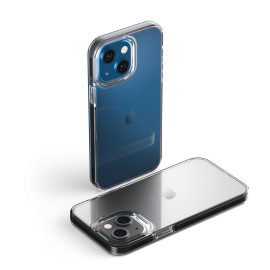 Vaku ® Apple iPhone 13 Air Guard Series Shock-Absorption Corners Three-Layer Protection TPU Back Cover