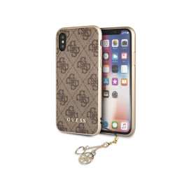 GUESS ® Apple iPhone XS Max Majestic 2K Gold Electroplated Metal Logo Monogram Case