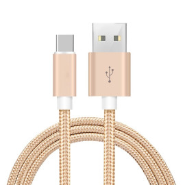 Vaku ® Android Type-C Nylon Braided Data-Charging Cable
