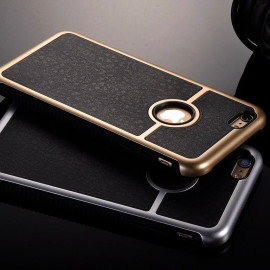 Vaku ® Apple iPhone 6 / 6S High Quality Gold Electroplated Luxury Retro Heavy Duty Hybrid Armor Case Back Cover
