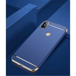 Vaku ® Xiaomi Mi A2 Ling Series Ultra-thin Metal Electroplating Splicing PC Back Cover