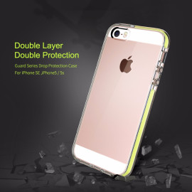 Rock ® Apple iPhone 5 / 5S / SE High-Drop Crash-Proof Ultra Guard Series Three-Layer Protection TPU Back Cover