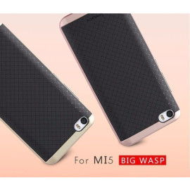 i-Paky ® Xiaomi MI 5 Mat Series Ultra-thin Hybrid Silicon Grip Shockproof Protective Shell Back Cover