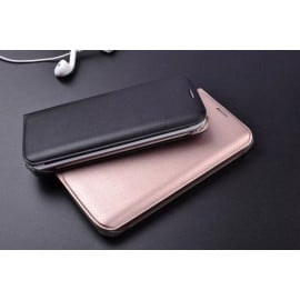Samsung Galaxy Series Double Stitch Leather Shell with Wallet Flip Cover