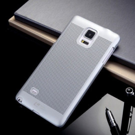 ioop ® Samsung Galaxy Note 4 Perforated Series Heat Dissipation Hollow PC Back Cover