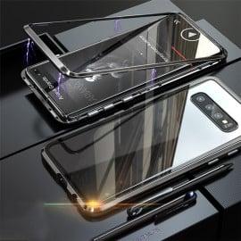 Vaku ® Samsung Galaxy S10 Plus Electronic Auto-Fit Magnetic Wireless Edition Aluminium Ultra-Thin CLUB Series Back Cover