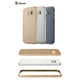 Baseus ® Samsung Galaxy S6 Edge Fusion Classic Ultra-thin Aviation Aluminium Metal Frame + PC Back Cover