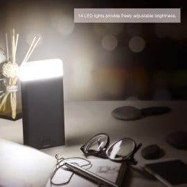 Rock ® 2in1 Ultra-Light with Soft Bright LED Light 8,000 mAh Dual-USB 8,000 mAh Power Bank