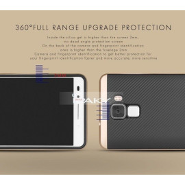 i-Paky ® Huawei Honor 7 Mat Series Ultra-thin Hybrid Silicon Grip Shockproof Protective Shell Back Cover