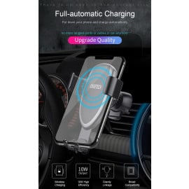 Choetech ® T536-S Air Vent Phone Holder 10 Watt Fast Wireless Car Charger