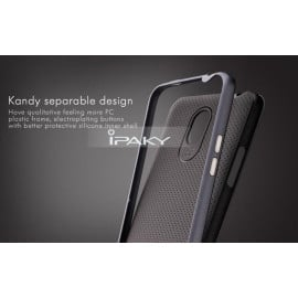 i-Paky ® Xiaomi Redmi Note Mat Series Ultra-thin Hybrid Silicon Grip Shockproof Protective Shell Back Cover