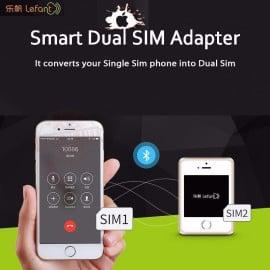 LeFant ® Smart More Card White + Gold
