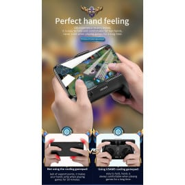 USAMS ® Dual Cooling Fan Phone Gamepad with 1200 mAh inbuilt Power Bank