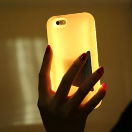 Light & Sexy ® Apple iPhone 6 / 6S 46 LED Ultra-Bright Selfie + Dark Flash Light with inbuilt Rechargeable Battery Back Cover