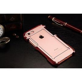 R-JUST ® Apple iPhone 6 / 6S Iron Man Nyatoh Wood Bumper Aluminium Metal Bumper