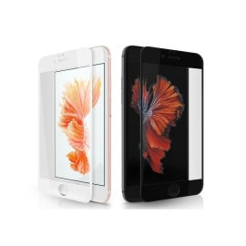 Dr. Vaku ® Apple iPhone 6 / 6S 3D Curved Edge Piano Finish Full Screen Coverage 9H Hardness Tempered Glass
