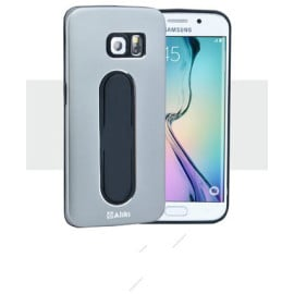Aliki ® Samsung Galaxy S6 Moko Series Aircraft Grade Aluminium Metal Case with Press Button Stand Back Cover