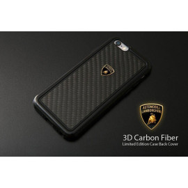 Lamborghini ® Apple iPhone 6 Plus / 6S Plus Official 3D Carbon Fiber Limited Edition Case Back Cover