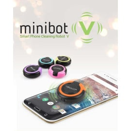 miniBot ® Automatic Ultra-Vibration Cleaning Technology Robot for smudge-free dirt-free Screen Cleaning Kit