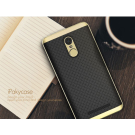 i-Paky ® Xiaomi Redmi Note 3 Mat Series Ultra-thin Hybrid Silicon Grip Shockproof Protective Shell Back Cover