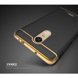 Vaku ® Redmi Note 3 Ling Series Ultra-thin Metal Electroplating Splicing PC Back Cover