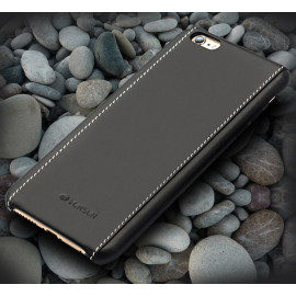 Vorson ® Apple iPhone 7 Trak Series Sport Textured Leather Dual-Stitching Metallic Electroplated Finish Back Cover