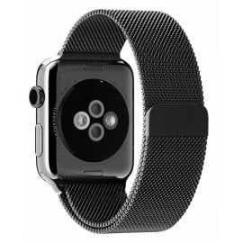 Vaku ® For Apple Watch 38mm / 40mm Magnetic Clasp Stainless Steel Mesh Band [Watch Not Included]