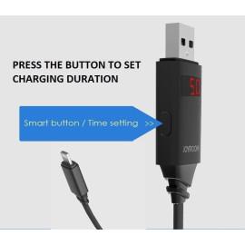 Joyroom ® Automatic Memory Digital LED Display Intelligent Apple Lightning Port Charging / Data Cable