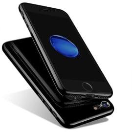 Vorson ® For Apple iPhone 8 5D ETOLICA Electroplating Front Case + Tempered Glass + Back Cover