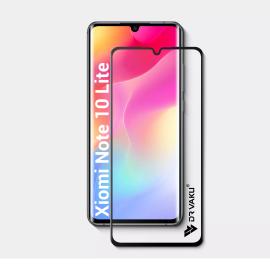Dr. Vaku ® Xiaomi Mi Note 10lite Full Edge-to-Edge Ultra-Strong Ultra-Clear Full Screen Tempered Glass- Black