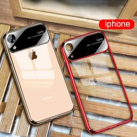 Vaku ® iPhone XR Dual Polarized Glossy Edition + Full Logo Display Electroplated Shine Case