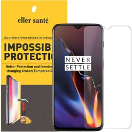 Eller Sante ® Oneplus 6T Impossible Hammer Flexible Film Screen Protector (Front+Back)