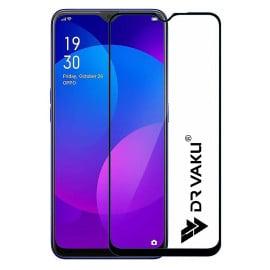 Dr. Vaku ® Oppo A9 2020 Full Edge-to-Edge Ultra-Strong Ultra-Clear Full Screen Tempered Glass- Black