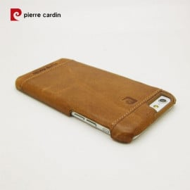 Pierre Cardin ® Apple iPhone 5 / 5S / SE Paris Design Premium Leather Case Back Cover