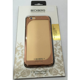 Beckberg ® Apple iPhone 6 / 6S Monsoon Series Transparent Electroplated Metallic Finish PC Case Back Cover