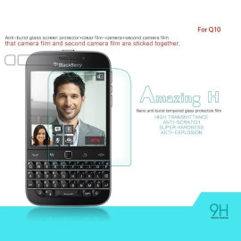Dr  Vaku ® BlackBerry Q10 Ultra-thin 0 2mm 2 5D Curved Edge Tempered Glass  Screen Protector Transparent