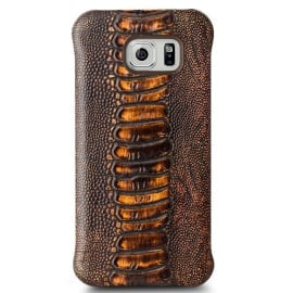 Qialino ® Samsung Galaxy S6 Jurassic Design Premium Leather Case Back Cover