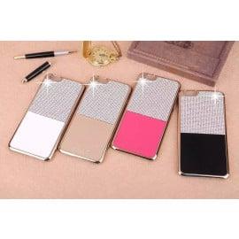 iSecret ® Apple iPhone 6 Plus / 6S Plus Luxury Swarovski Diamond Leather + Gold Electroplating Back Cover