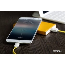 Rock ® Smart Safe Android/Windows Micro USB Flat Charging / Data Cable