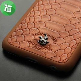 Santa Barbara Polo Club ® Samsung Galaxy S6 Edge Crocodile Knight Series Back Cover