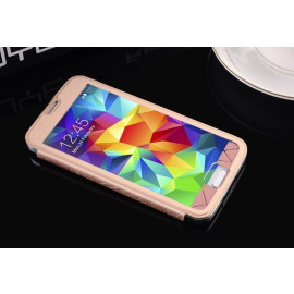 Baseus ® Samsung Galaxy S5 Coloured Glaze Full Window Protective Case Flip Cover