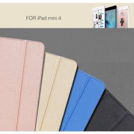 Rock ® Apple iPad Mini Rotate Series 360 Rotating Smart Awakening with Stand Retro Leather Flip Cover