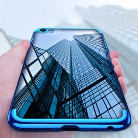Vaku ® VIVO V5 / V5s CAUSEWAY Series Top Quality Soft Silicone 4 Frames + Ultra-thin Transparent Cover