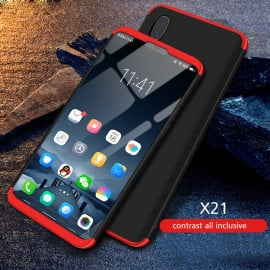 FCK ® Vivo V11 Pro 3-in-1 360 Series PC Case Dual-Colour Finish Ultra-thin Slim Front Case + Back Cover