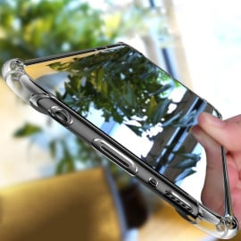 Vaku ® Samsung Galaxy A7 (2016) PureView Series Anti-Drop 4-Corner 360° Protection Full Transparent TPU Back Cover Transparent